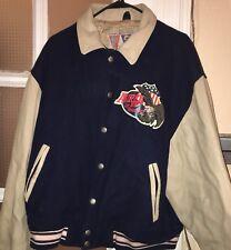 Avirex Varsity Leather Bomber jacket