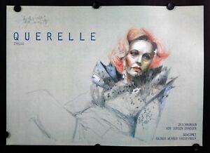 Jurgen Draeger- Berlin- Querelle - 1980's -Rainer Fassbinder - Exhibition Poster