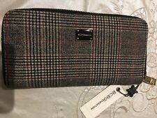 BCBGeneration Allison Zip Around Wallet, Plaid