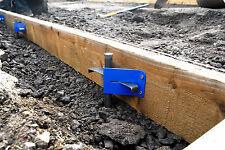 DIY Concrete Slab Base Shuttering Brackets + Pins / Float Rake Vibrator Trowel