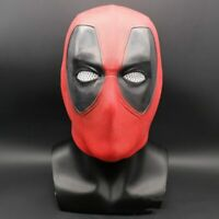 US new Deadpool Latex Head Face Mask Cosplay Costume Prop Helmet Halloween19