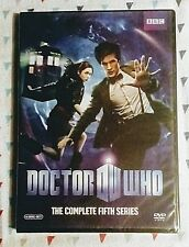 New! Doctor Who: The Complete Fifth Series *Season 5*. 6-Disc Set. Ships Free