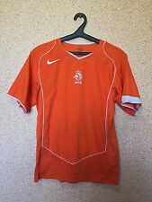 HOLLAND NETHERLANDS NATIONAL TEAM 2004/2005/2006 HOME FOOTBALL SHIRT JERSEY NIKE