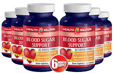 Blood Sugar Support - Cardiovascular Health Solution - 6B