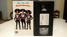 Three Amigos! VHS Steve Martin Chevy Chase Martin Short Like New Condition 1986
