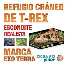 REFUGIO PARA REPTILES T-REX SKULL CRÁNEO DE T-REX Exo Terra Realista