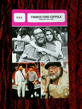 FRANCIS FORD COPPOLA  -  MOVIE DIRECTOR  - FILM TRADE CARD - FRENCH  #2