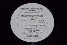 "Northwest Christian College~N.C.C. Male Quartet~10"" 33RPM~FAST SHIPPING"