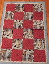 Quilt Throw Comforter Patchwork Multicolored