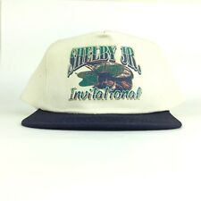 Shelby Jr Invitational Graphic Baseball Cap Hat SnapBack Men's Size Cotton NWOT