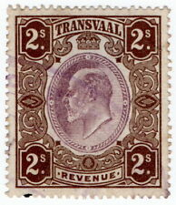 (I.B) Transvaal Revenue : Duty Stamp 2/-