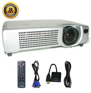 Hitachi CP-X327 3LCD Projector Portable HD 1080i HDMI-adapter Accessories bundle