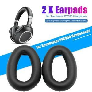 2pcs Replacement Earpads Earmuffs Cusions for Sennheiser PXC550 Headphones