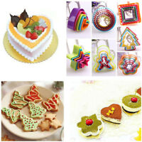 Baking Tools Biscuit Cookie Cutter Fondant Cake Mold Christmas Tree Mould
