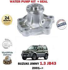 FOR SUZUKI JIMNY 1.3 + 4X4 JB43 M13A 16v 2/2001--> NEW WATER PUMP + SEAL KIT