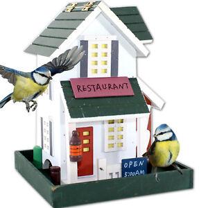 VOGELFUTTERHAUS RESTAURANT | Vogelhaus Vogelvilla Holz Futterhaus Vogel Haus XXL