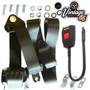 Austin 1100 1300 Saloon Estate Up To 1972 Front Automatic Seat Belt Kit