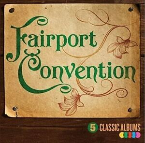 FAIRPORT CONVENTION - 5 CLASSIC ALBUMS [5 CD] NEW & SEALED