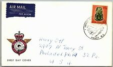 GP GOLDPATH: NEW ZEALAND COVER 1965 AIR MAIL FIRST DAY COVER _CV787_P04