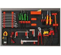 Plastic  Kit Wall Garage Storage Parts Board Tool DIY Organiser Shelving Unit