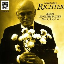Sviatoslav Richter, - Sviatoslav Richter Plays Bach: English Suites [New CD]