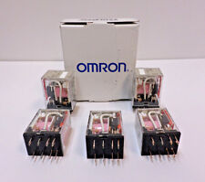 Omron 1ycr1 Plug In Relay 8 Pins Square Base Type 250vac30vdc Box Of 5 Nos