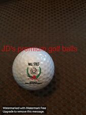 LOGO GOLF BALL-WALL STREET CHARITY GOLF CLASSIC FOR CYSTIC FIBROSIS..SNOOPY!!