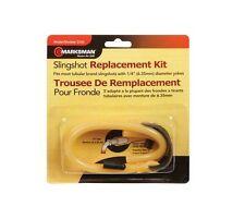 "Marksman Slingshot Replacement Band Kit 1/4"" diameter Yoke #3330 NEW"