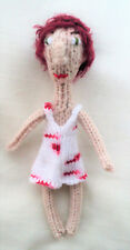 SMALL DOLL & DRESS KNITTING PATTERN