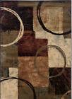 "Oriental Weavers NWT Hudson 1'10""x7'6""  Brown Patterned Rug A11"