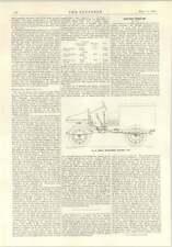 1914 Cedes Three Wheel Electric Van