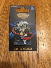 Walt Disney World 2018 Marathon PIN GOOFY'S RACE & 1/2 CHALLENGE 39.3 *NEW*