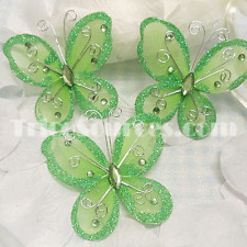 """Butterfly Favor For Birthday Party Supply Gift Decoration 3"""" x 18 PCS -FP6103"""