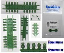SOMMERFELDT N.20 ISOLATORI VERDI con FORO per SOSTITUZIONE LOCOMOTORI SCALA-N