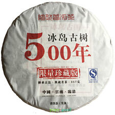 SPECIAL 500-year Iceland Old Tree spring tea Pu'er puer TEA raw Puerh 357g