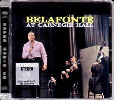 RCA BMG Hybrid SACD 74321-89485-2: Harry Belafonte At Carnegie Hall - 2001 EU NM