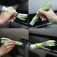 Plastics Car Brush Cleaning Accessories Auto Air Conditioner Vent Cleaner 17cm