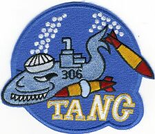 USS Tang SS 306 - Submarine with Torp/Sailor Hat - Bc Patch Cat. No. C5376