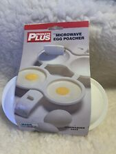 Products Plus Microwavable Egg Poacher
