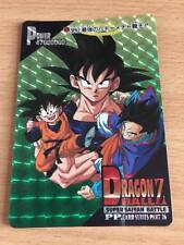 Carte Dragon Ball Z DBZ PP Card Part 26 #1177 Prisme (Version Soft) AMADA 1995