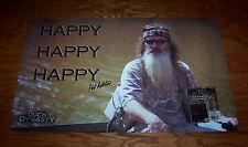 DUCK DYNASTY Floor Gun All Purpose Mat  Ducks Happy Hunting USA Made Mohawk NEW