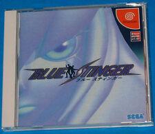 Blue Stinger - Sega Dreamcast DC JAP Japan