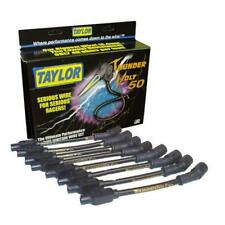 Taylor Spark Plug Wire Set 98003; ThunderVolt 50 10.4mm Black for Chevy V8