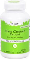 Horse Chestnut Extract 250mg 20% Aescin - 180 capsules