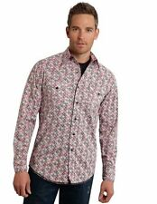Roper Long Sleeve Western Casual Shirts for Men