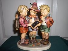 "Hummel Goebel Figurine, ""School Boys "" Tmk 5, Hum170 Ce 7.5"""