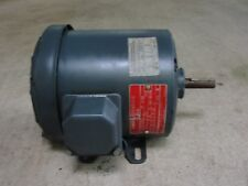 New Vintage General Electric 1/4 HP Motor 5K42DG2559 1725 RPM 3 Phase