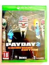 Payday 2 Crimeway Edition Xbox One Nuovo Sigillato Sealed Nuovo Brand New Euro