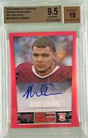 Mike Evans 2014 Panini Score Hot Rookies Red HOLO Autograph /25 BGS 9.5 Gem Mint