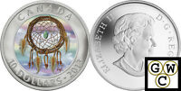 2013 'Dreamcatcher' Hologram 1/2oz Proof $10 Silver Coin .9999 Fine (13228)